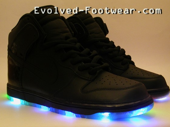 evolved footwear all black everything fully laced blog