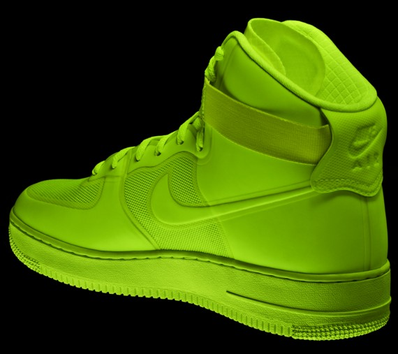 best service 43c12 93e9b ... Nike Sportswear Air Force 1 Hyperfuse Detailed Look Fully Laced Blog ...