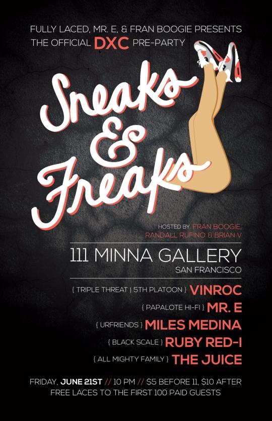 FL_Sneaks&FreaksPoster
