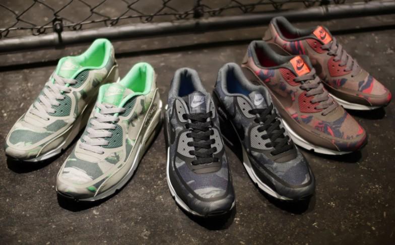 "37b43d7f188 Nike Air Max 90 Premium Tape ""Camo"" Pack"