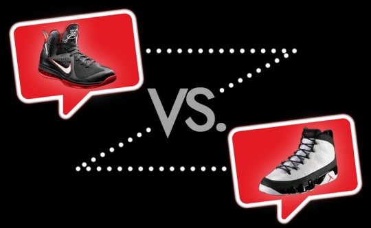 Nike-LeBron-IX-vs-Air-Jordan-IX