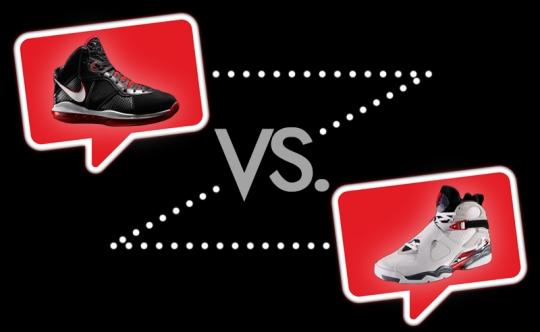 Nike-LeBron-VIII-vs-Air-Jordan-VIII
