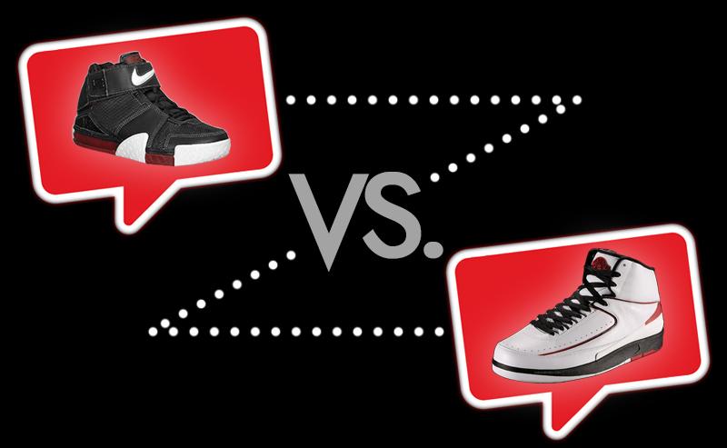 Nike-Zoom-LeBron-II-vs-Air-Jordan-II
