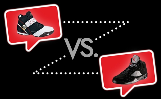 Nike-Zoom-LeBron-V-vs-Air-Jordan-V