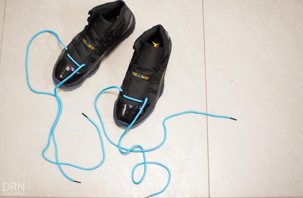 Air Jordan 11 Lisser Fullt Laced Stones w7hnD