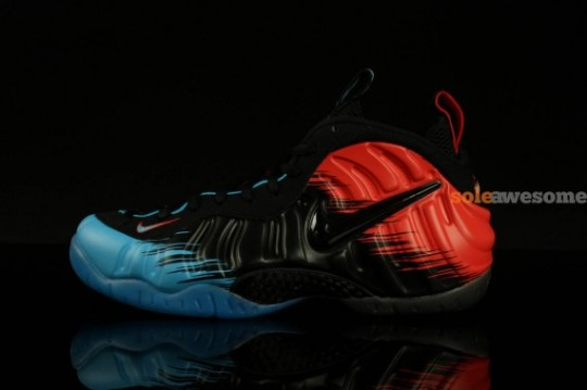 half off 3fdab 0f993 ... to the Foamposite silhouette. Nike s spider sense must be tingling.  1389627235 spidermanfoams2570x379 · 1389627247 spidermanfoams3570x379