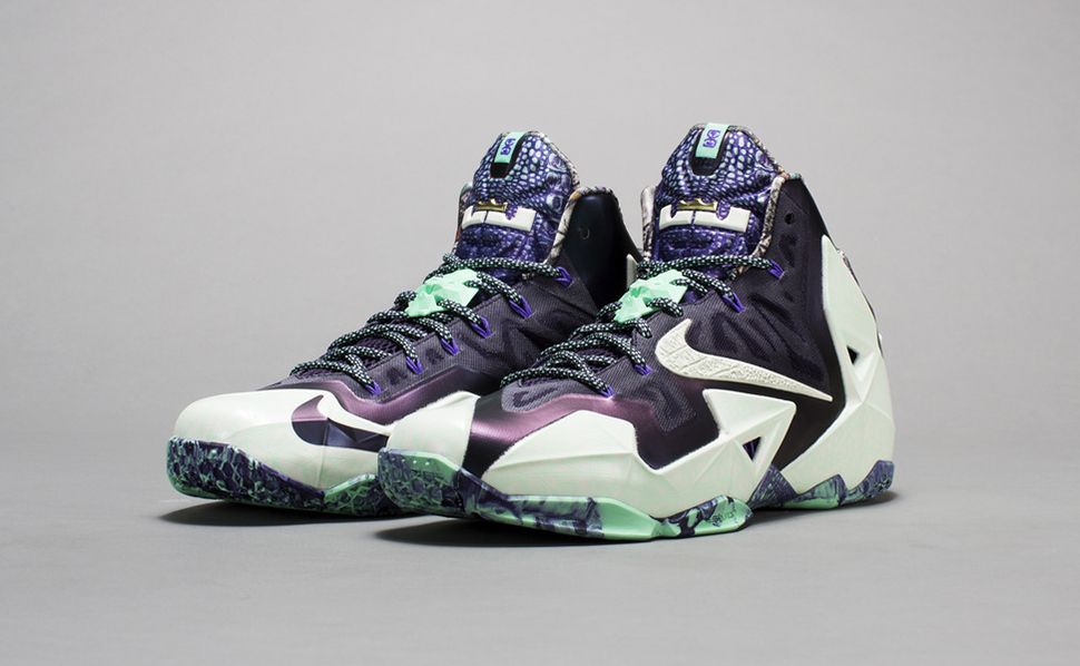"Nike LeBron 11 ""Gator King""   Fully"