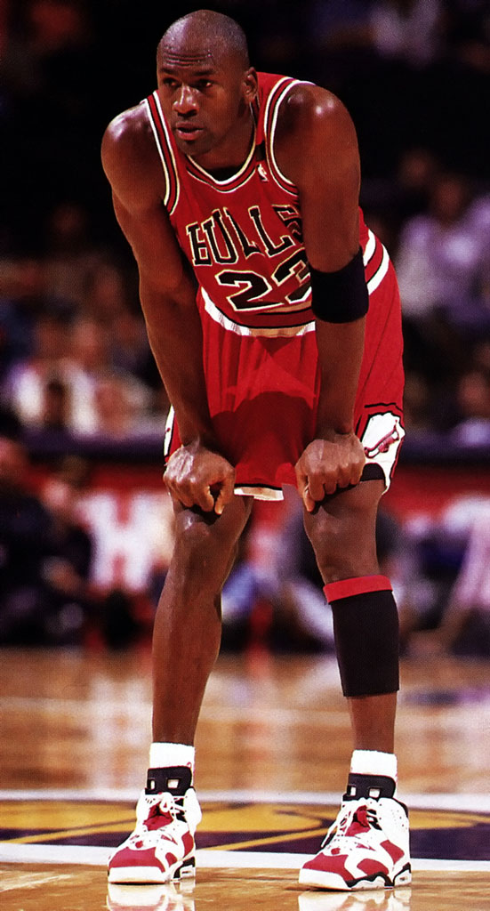 new style f924e 3be88 Throwback Photos of Michael Jordan Wearing the Carmine VIs ...