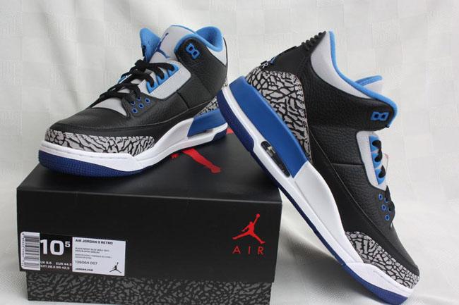 698fce304ef Air Jordan 3 Retro 'Sport Blue' | Fully Laced Blog