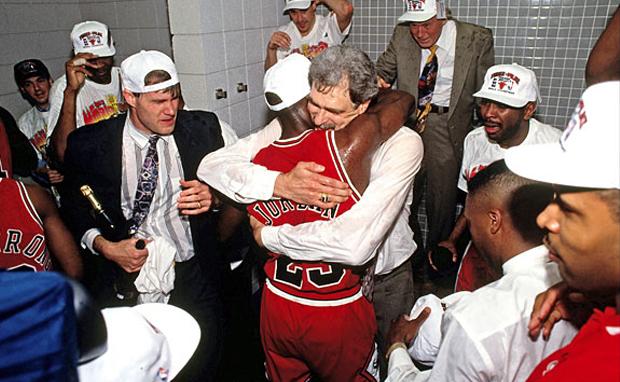 Champagne & Cigars : Michael Jordan's Championship ...