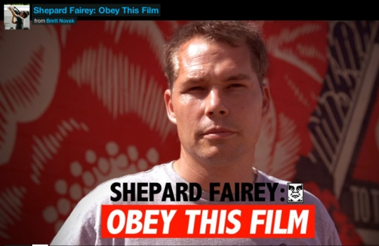 S Fairey Obey this film
